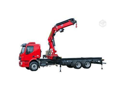 Caminhão Munck de 25 Toneladas GV 25 200