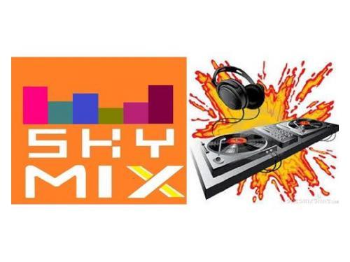 Logotipo sky mix