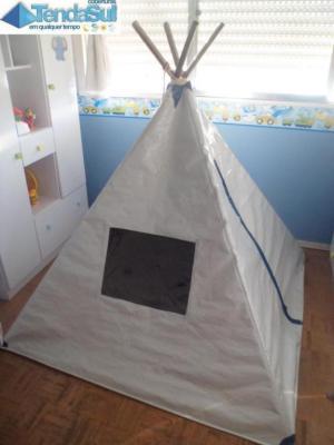 Tipis para crianças fabricados em lonas térmicas