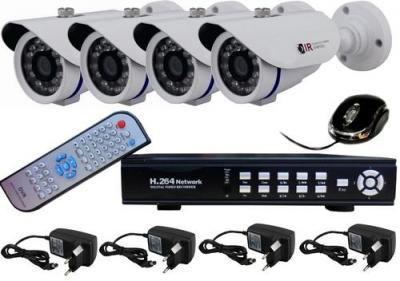 Promoção em 10% em todos os kitsa de segurança eletrônica, como CFTV digital, cercas elétricas, sistemas de alarmes, controles de acesso, racks para informática.